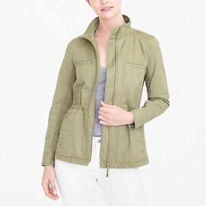 J. Crew cotton pocket anorak utility jacket